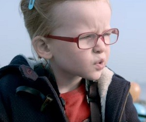 Volvo Trucks Little Girl Driving Commercial