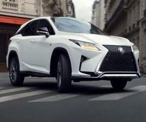 2016 Lexus RX Commercial