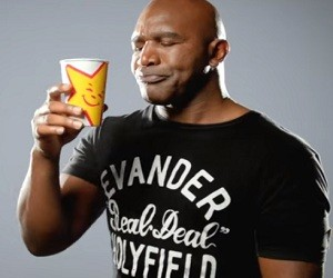 Carl's Jr. Commercial with Evander Holyfield