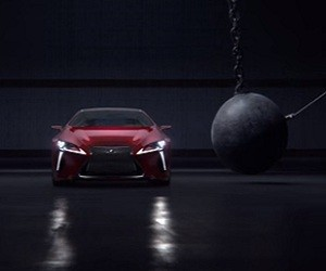 Lexus LC 500 Commercial 2016