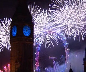 London Fireworks 2016 - New Year's Eve Fireworks