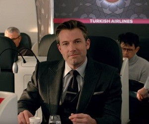 Ben Affleck - Turkish Airlines Commercial
