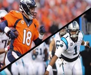 Peyton Manning vs Cam Newton