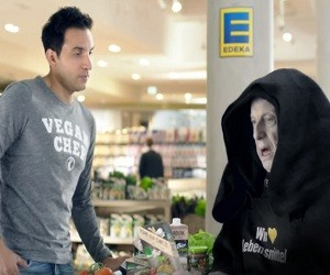 Edeka Werbung - Begegnung der veganen Art