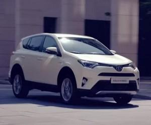 Toyota RAV4 Hybrid Werbung 2016