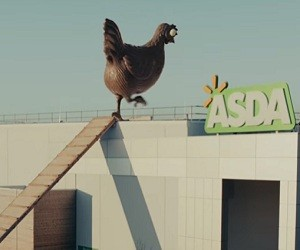 Asda Easter TV Advert - Chocolate Hen