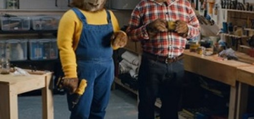 B&Q_Beavers_Advert