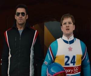 Eddie the Eagle (2016 Movie) - Taron Egerton & Hugh Jackman