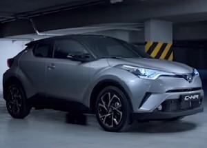 Toyota C-HR Werbung