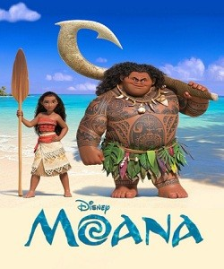 Moana (2016 Movie) - Movie Poster