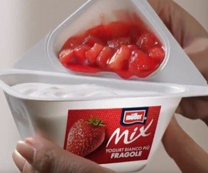 Muller Mix Fragole Spot 2016