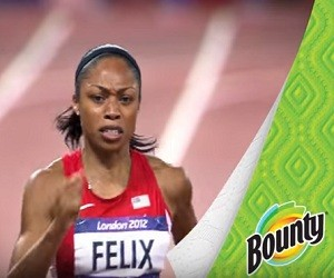 Bounty Paper Towels Commercial - Allyson Felix