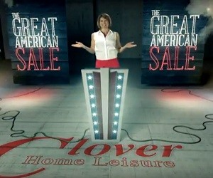 Clover Home Leisure Ad - Great American Sale