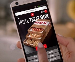 Pizza Hut Commercial 2016 - Triple Treat Box