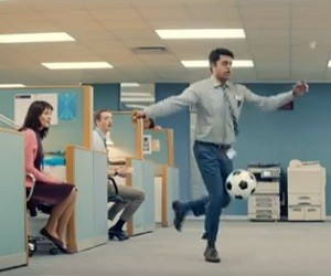 MBNA TV Advert 2016 - Football Skills
