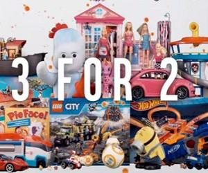 Argos 3 for 2 on Toys Advert 2016