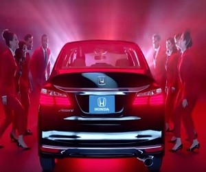 Honda Accord LX Sedan Commercial 2016 - Red