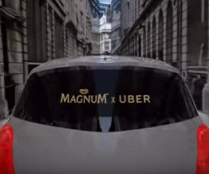 Magnum X Uber Commercial 2016