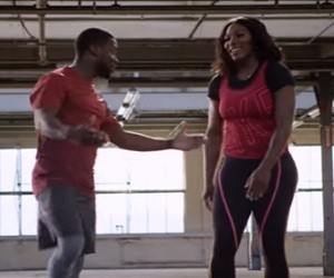 Nike Training Slow Jams Commercial 2016 - Serena Williams & Kevin Hart