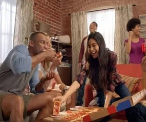 Pizza Hut Big Flavor Dipper Commercial 2016