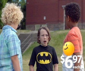 Walmart Back to School Commercial 2016 - I'm Batman