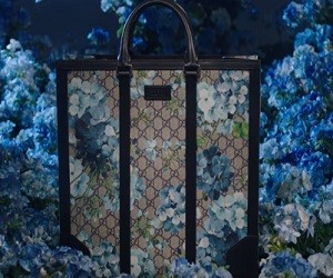Gucci Blue Blooms Accessories Collection Commercial 2016