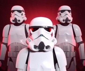 Target Rogue One Imperial Helmet Commercial 2016