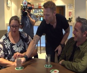 Holiday Inn Express Commercial 2016 - Surprise Visit from Ronan Keating