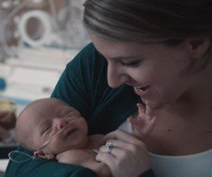 Pampers Preemie Swaddlers Commercial 2016 - A Touch Of Love