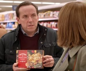 Tesco Christmas Advert - Ruth Jones and Ben Miller
