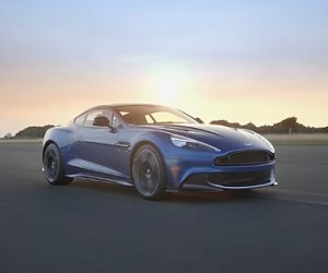 Aston Martin Vanquish S Commercial