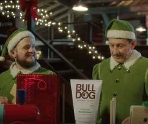 Bulldog Skincare Christmas Advert