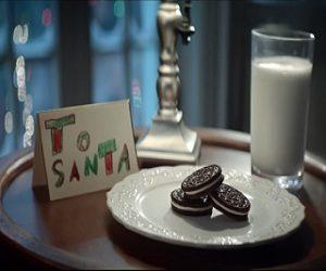 Oreo Santa Commercial