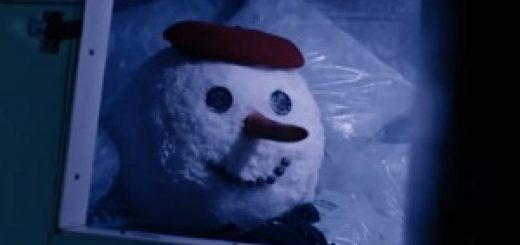 tarjeta_naranja_snowman