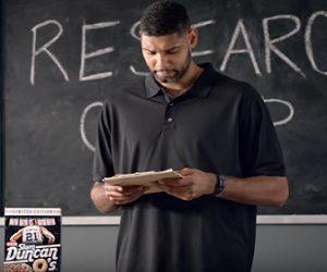 HEB Slam Duncan O's Cereal Commercial - Tim Duncan