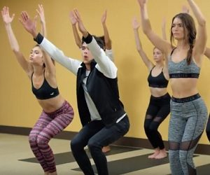 Hollister Stretch Jeans Commercial - Yoga