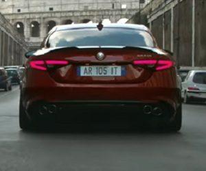 Alfa Romeo Giulia Commercial 2017