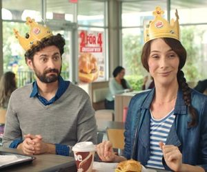 Burger King Croissan'wich Commercial
