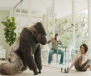 Clear Gorilla Glue Commercial