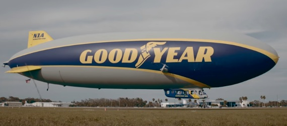 Goodyear Blimp Commercial 2017