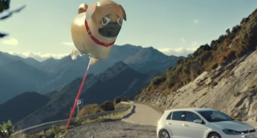 Dog Shaped Balloon (Volkswagen Commercial)