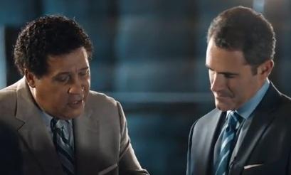 Greg Gumbel & Seth David (AT&T Commercial)