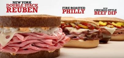 Arby's Big City Sandwiches
