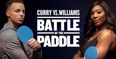 Serena Williams vs. Stephen Curry (Chase Commercial)