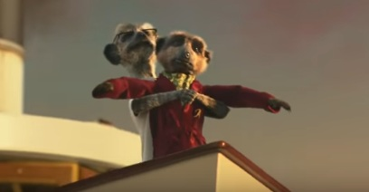 Compare the Meerkat - Titanic Scene
