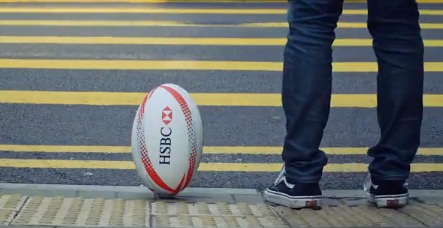 HSBC Commercial - Travelling Ball