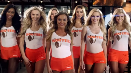 Hooters Girls Commercial
