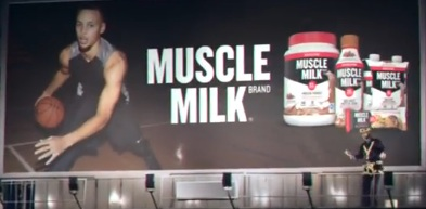 Steph Curry - Muscle Milk