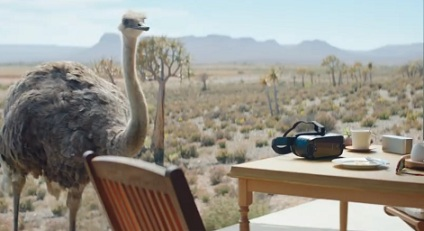 Samsung Ostrich Commercial