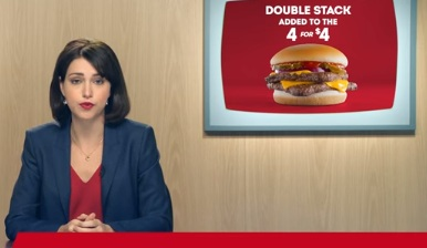 Wendy's Double Stack Commercial